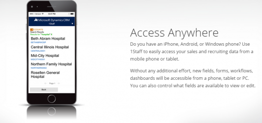 1Staff Mobile Accessability