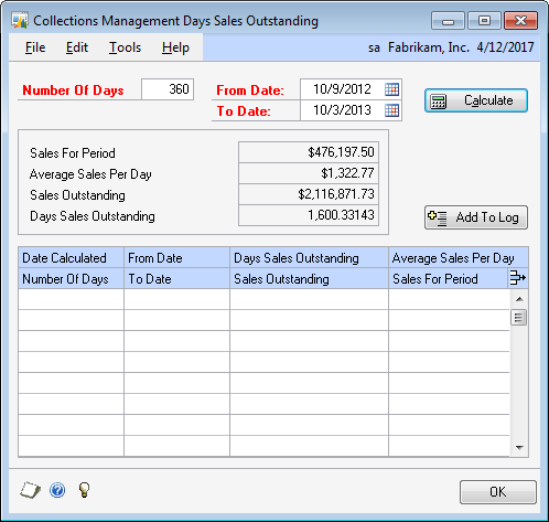 Finding the details behind Days Sales Outstanding