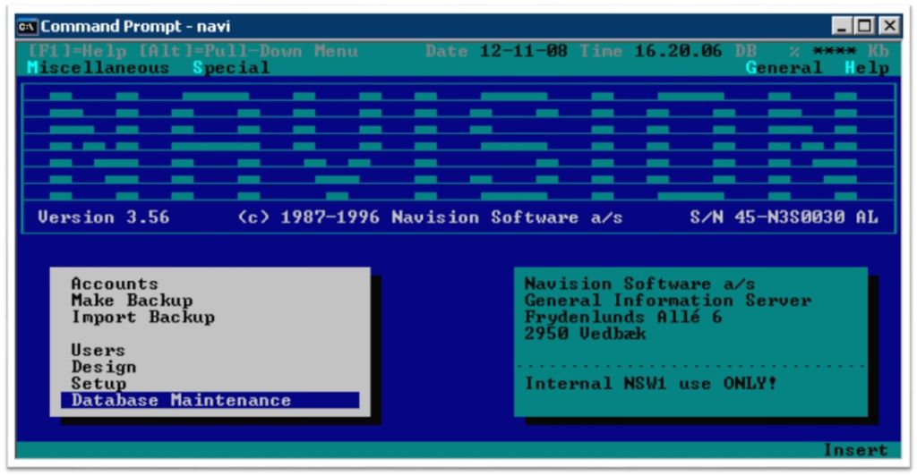 """Early 1980s - PC Plus morphed, grew, and developed into """"Navigator"""" and then into """"Navision"""